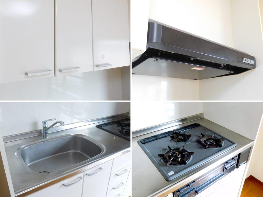キッチンの設備。