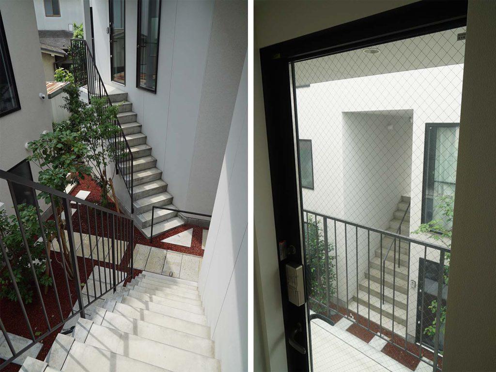 占有階段と迷路みたいな共用部