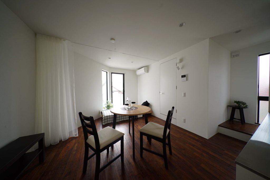 お部屋の全体像 ※モデルルームです