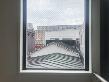 窓からオオゼキ見えてる…!