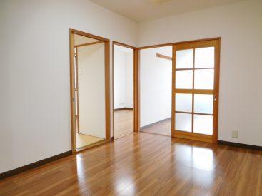 3部屋それぞれへの振り分け式