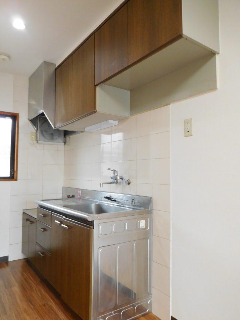 キッチンの水洗周りを中心にリフォーム