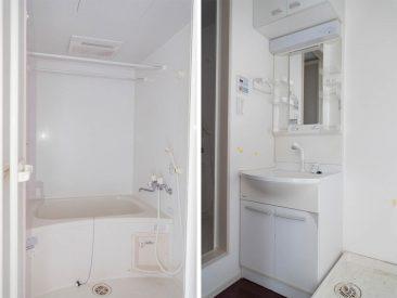 お風呂と洗面台です。