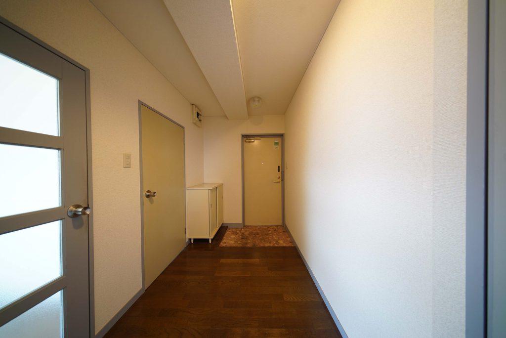 玄関スペースがゆったり広々です