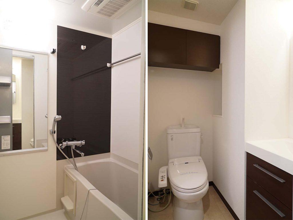 トイレの収納うれしい〜