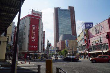 三茶のランドマーク キャロットタワー
