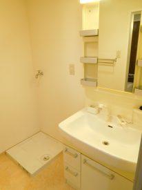 シャワー付き洗面台が便利