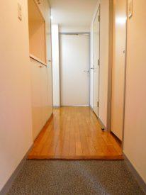 玄関には収納が大容量です