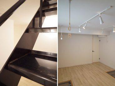 築浅物件ですがこの階段もどんどん味が出てくるのでしょう