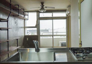 キッチンからの眺めもいい感じ