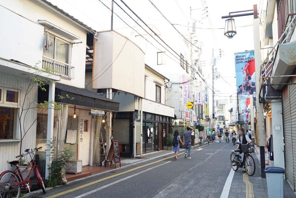 松蔭神社通り商店街