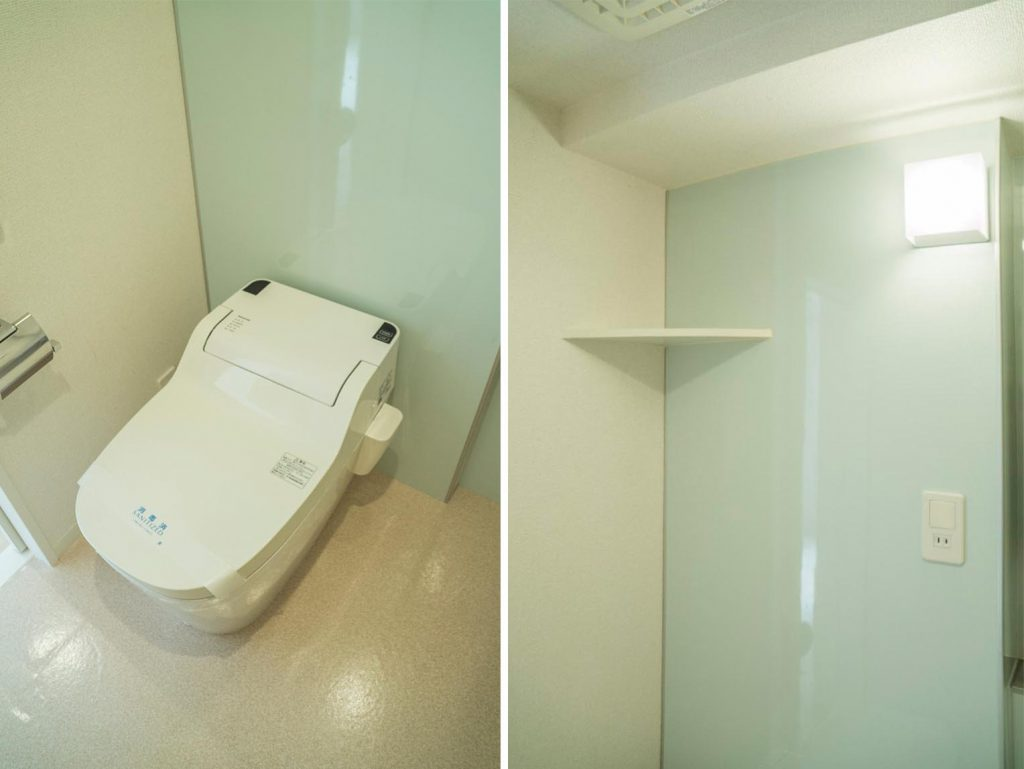 まるっこくてかわいいトイレ…。