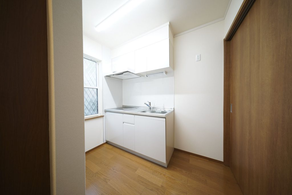キッチンの空間もゆとりがあります。