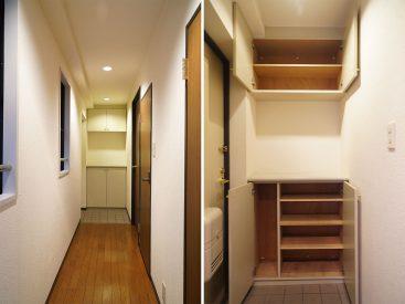 玄関と靴の収納