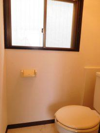 嬉しい窓付きトイレ