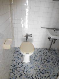 トイレも激渋