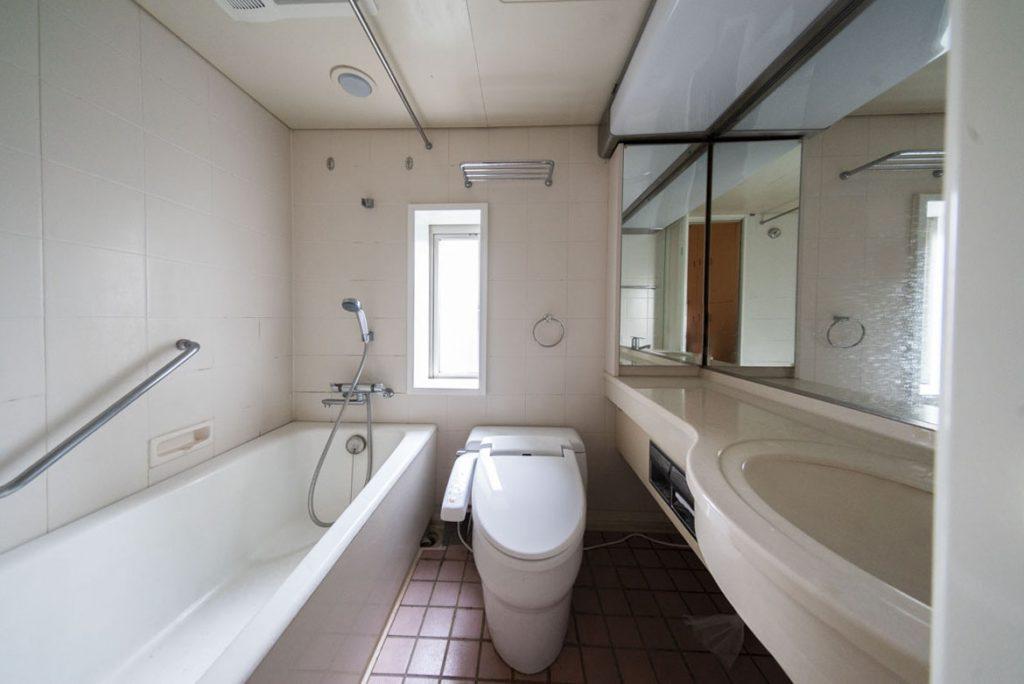 お風呂・トイレ洗面がまとまっています。