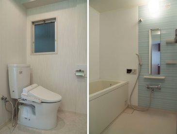 お風呂などの設備も綺麗です!
