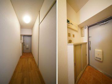 玄関と廊下