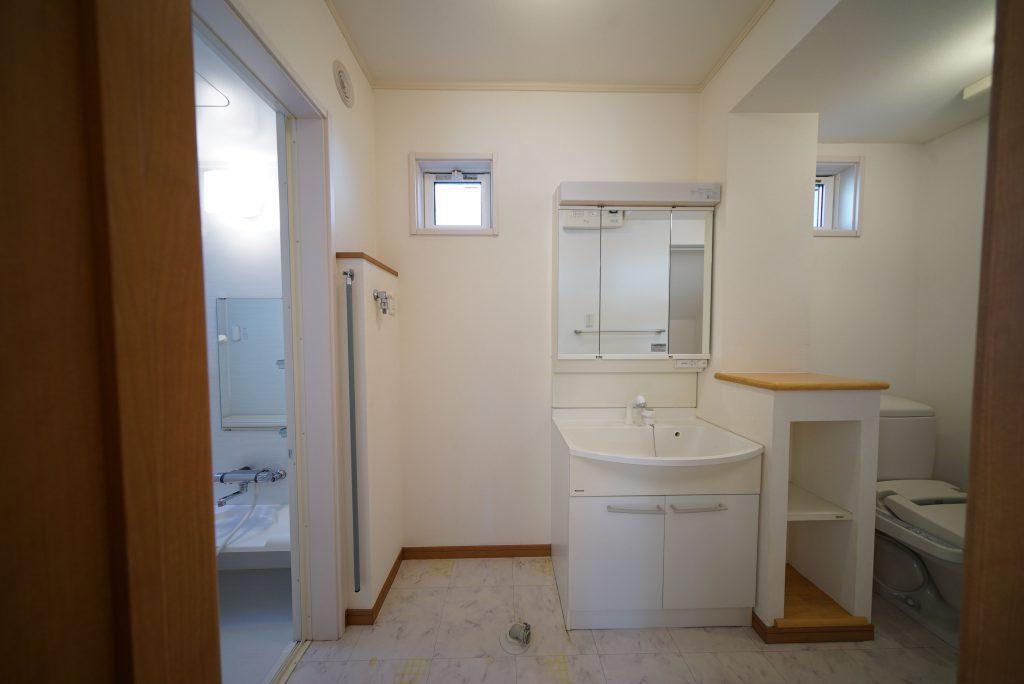 洗面スペース全体像