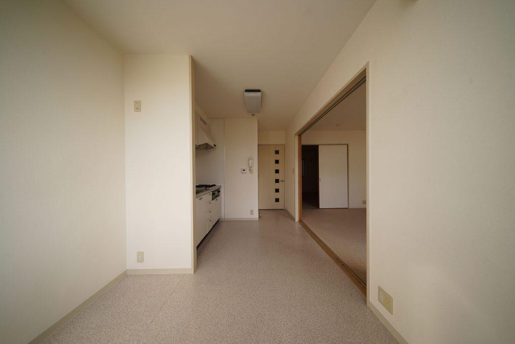 お部屋のつながりはこのような感じです