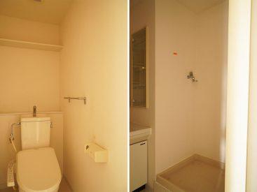 トイレと洗濯機置き場