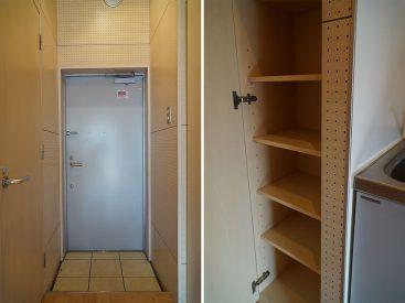 玄関と靴箱