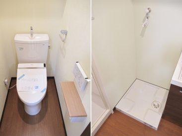 トイレ&室内洗濯機置き場