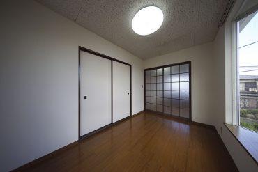 戸を全部閉めるとこんな感じです