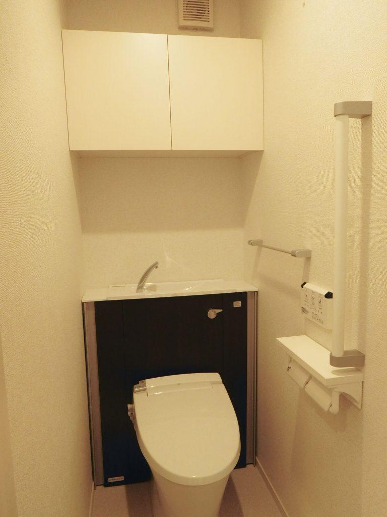 設備完璧トイレ