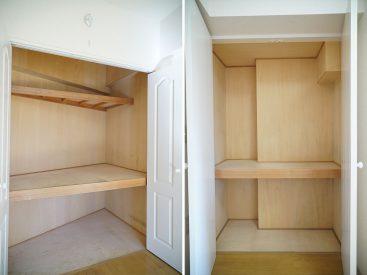 収納。和室は通常の押入れです。