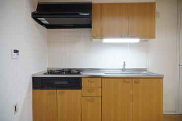 キッチンです。3口コンロ!