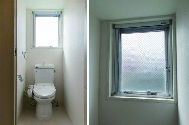 トイレにも窓が。明るい。。