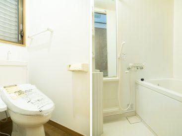 トイレとバスルーム。