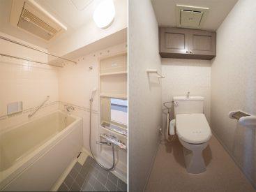 お風呂。トイレ。