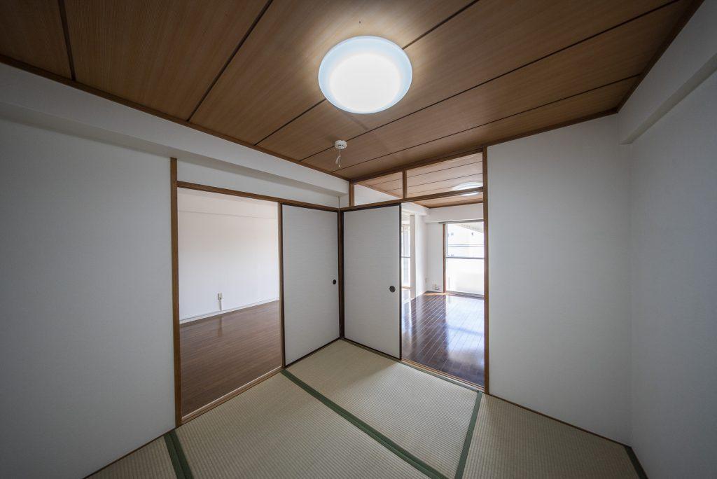 もう一部屋は和室です。