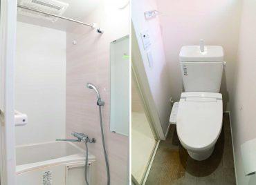 お風呂、トイレ別。