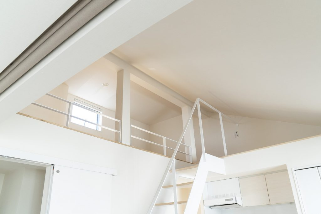 天井が高くて気持ちが良い。