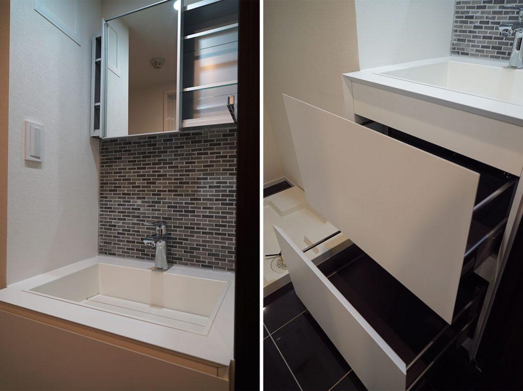 こんな洗面台とともに暮らしたい