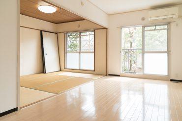 リビング7.5帖と和室6帖は引き戸で区切られます。