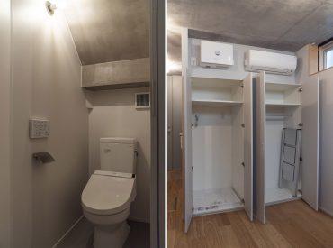 収納かと思いきや、洗濯機置き場だよ。