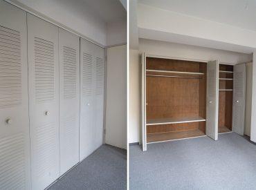 扉がアルミっぽい材質。