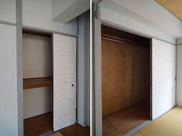 和室① たっぷり入る収納です