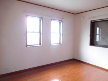 どのお部屋も窓がたくさん