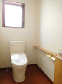 トイレも設備充実