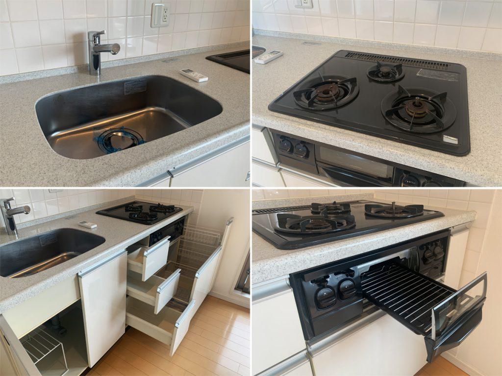設備じゅうぶんなキッチン。