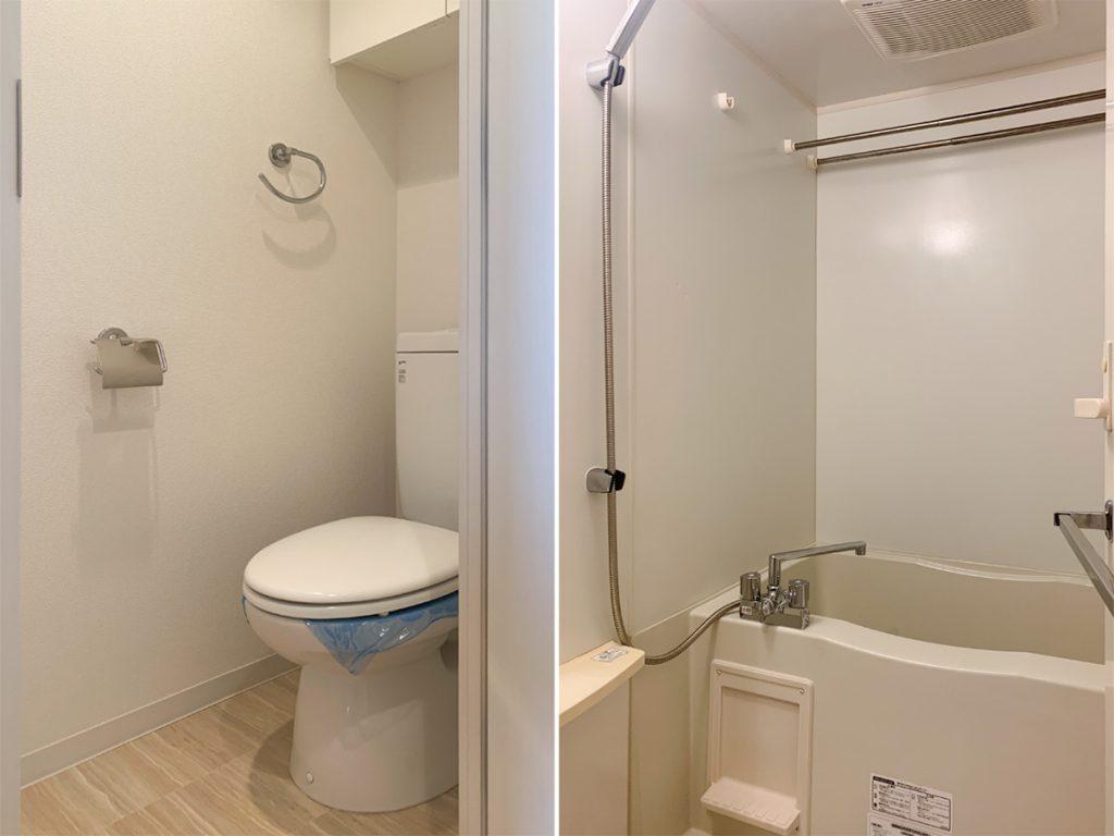トイレ。お風呂。