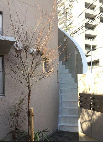 階段のアーチまで美しい