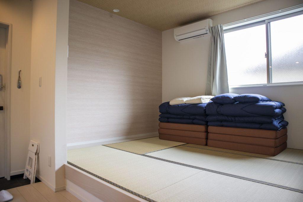 小上がりの和室。