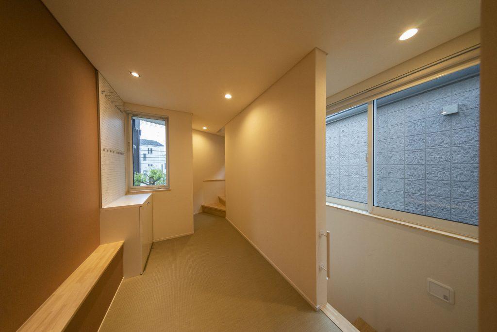 2階部分にお風呂、トイレなどが集まってます。